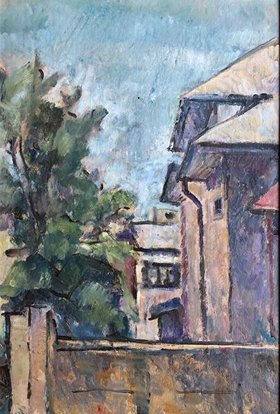 strada-fagetulu-35x50-ulei-pe-carton