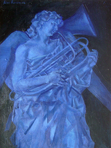 adina romanescu ingerul albastru