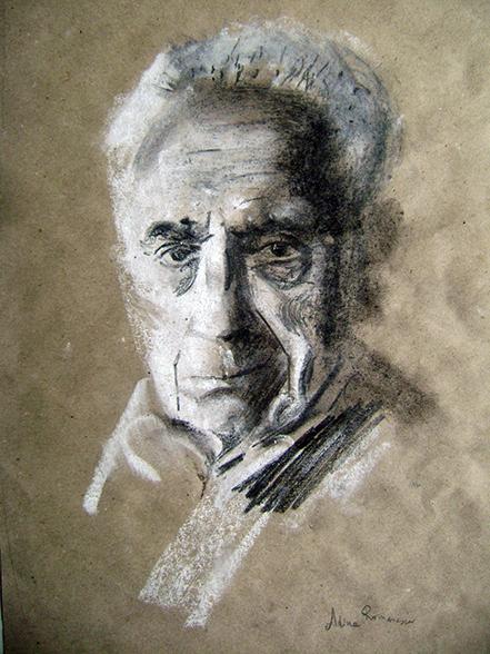 adina romanescu Portret Michelangelo Antonioni