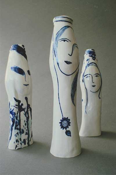 simina comanescu Portrait-Vases