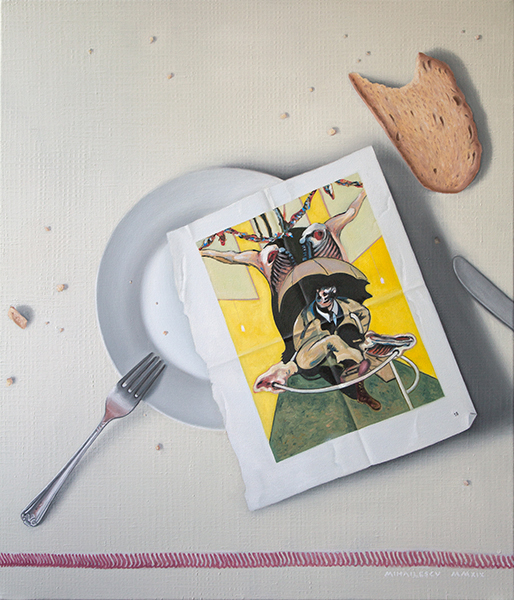 Still life with Bacon M