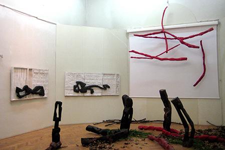 BURHAN Marius Instalatie-obiect Pictura