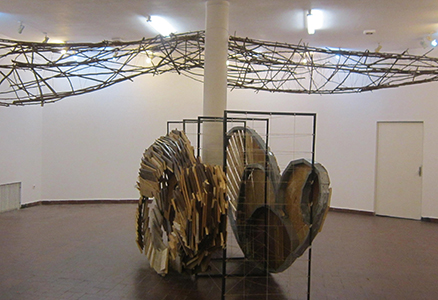 BURHAN Marius instalatie - obiect Pasare