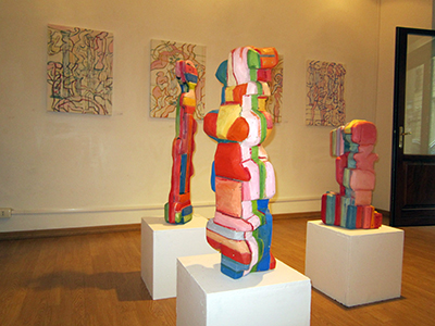 BURHAN Marius Instalatie-obiect 2