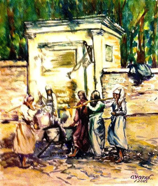 Balcicul de altadata - La cismea-cerasela-avanu-dragos