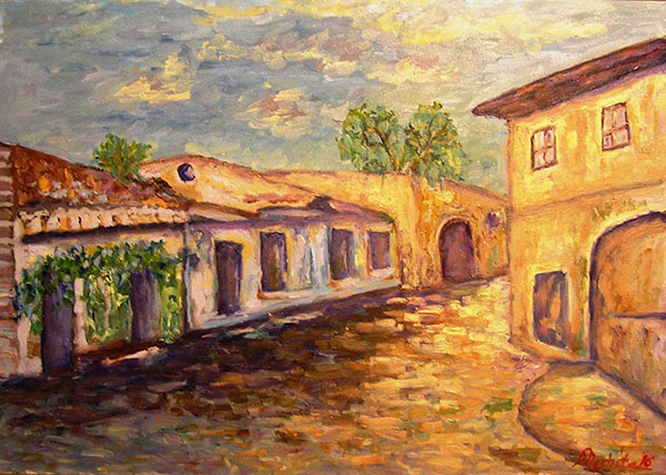 Case vechi la Sighisoara-nechita-dana