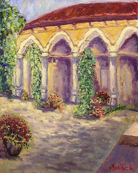 Stavropoleos - curte interioara-nechita-dana
