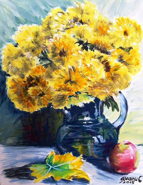 Flori de toamna - avanu cerasela