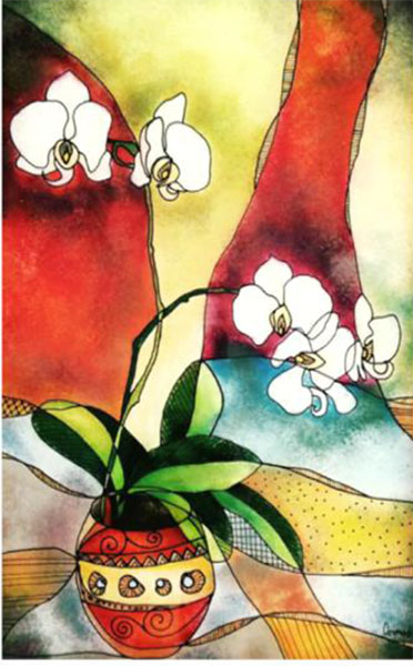 orchid - ottilia cormos