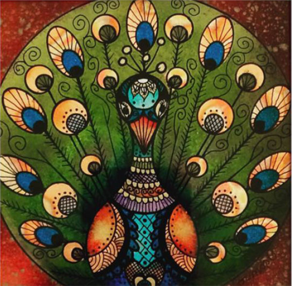 peacock - ottilia cormos