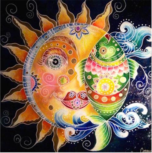 sun & fish - ottilia cormos