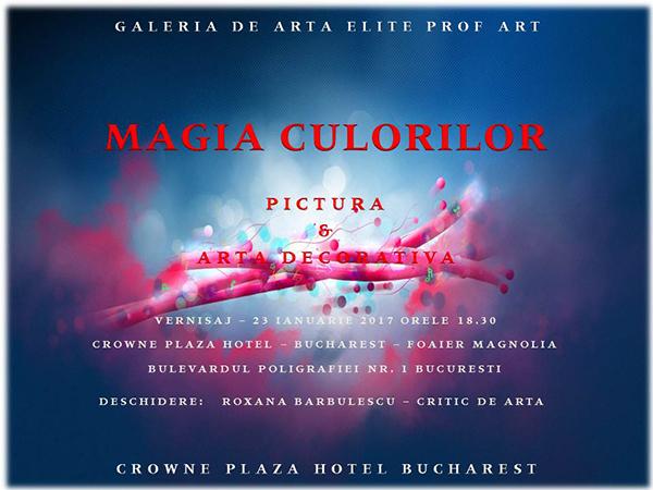 INVITATIE - MAGIA CULORILOR - IANUARIE 2017 - CROWNE PLAZA m