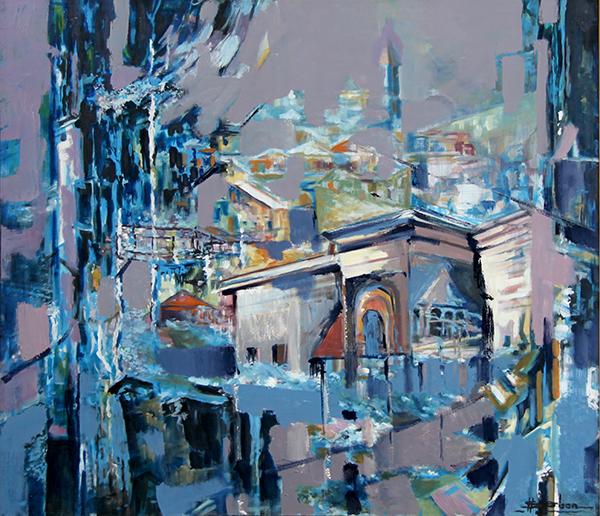 Peisaj citadin I - stefan serban