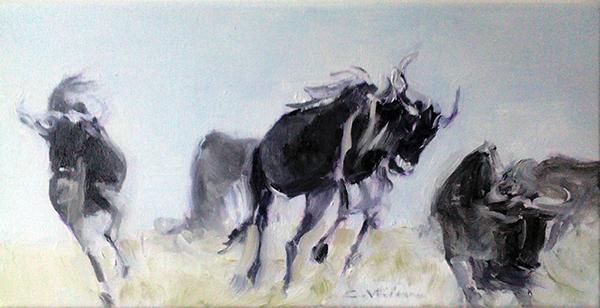 Dansul antilopei gnu - carmen vaideanu