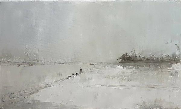 GEORGE COSTEA Iarna la margine de Gumesti