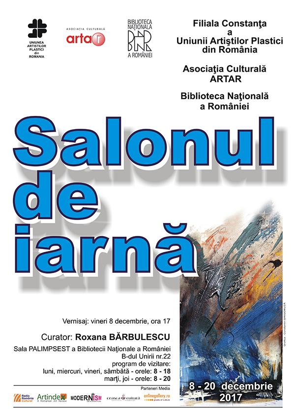 afis Salonul de iarna UAPR Constanta