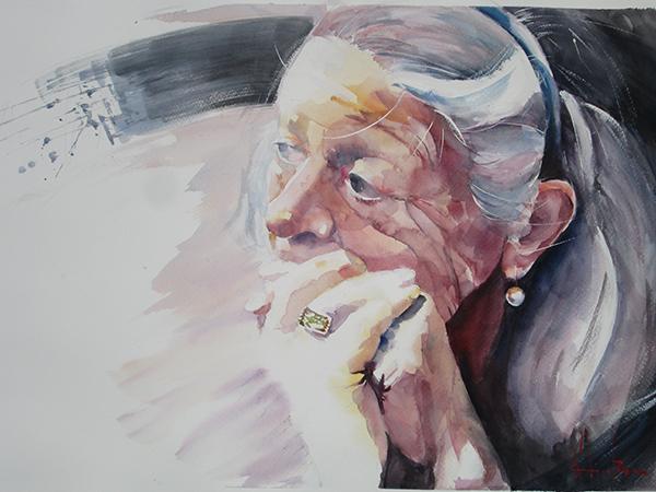062. Radu Dumitrescu - Melancoliet - Dimensiune 60x70 cm