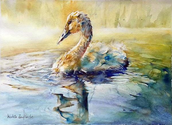 174. Nicoleta Zamfirache - Silence 30,5x43 cm