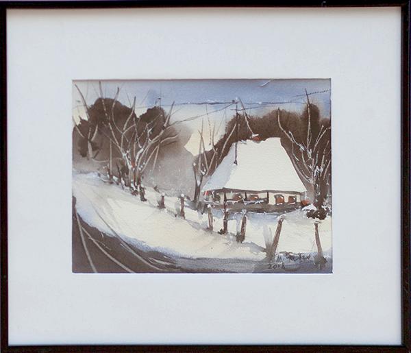 Maria Fătu - Peisaj de iarnă