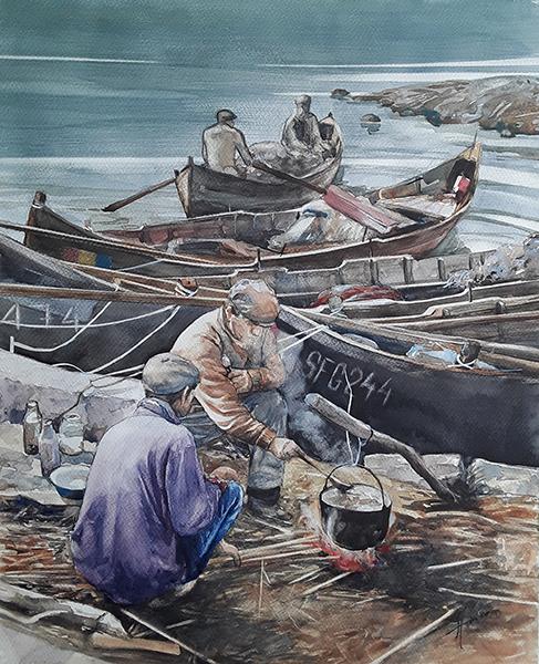 paul stoica Pranz pescaresc