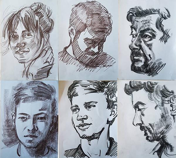schite portret