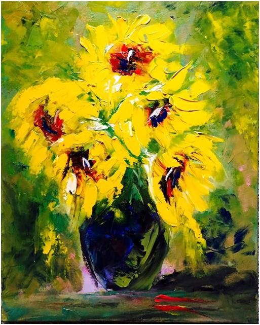 imbratisarile florilor de soare