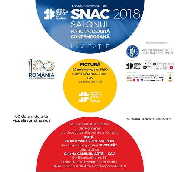Salonului Național de Artă Contemporană caminul artei