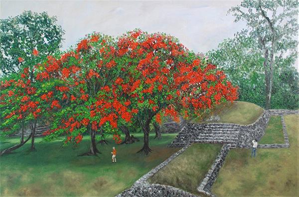 9 Mayan Rubies Palenque