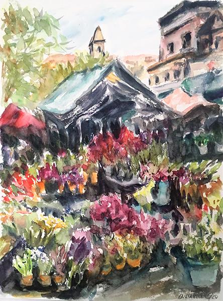 CAVA0071 Piata de flori