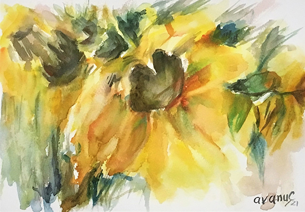 Floarea soarelui 2 - cod: CAVA 0103