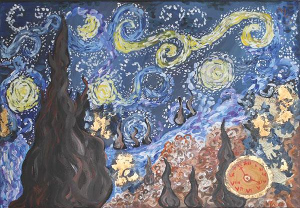 ODE TO VAN GOGH (III) (In my mind)