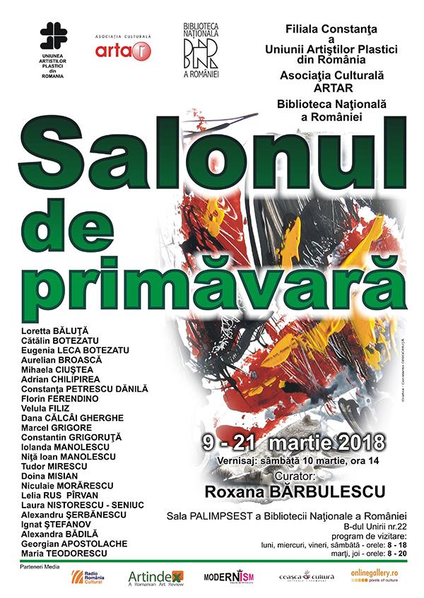 afis Salonul de primavara UAPR Constanta